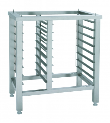 Stainless steel stand  ST623 with 8 trays for GN2/3 and 8 trays for GN1/3