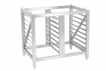 Flat pack stand ST1116FP  with 16 trays GN1/1