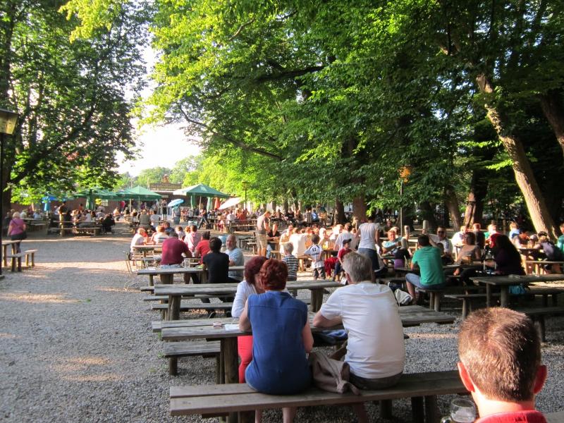 Fisch Und Mehr Biergarten Schlossallee Retigo Ltd